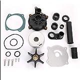 #2: KONDUONE 90-300 HP V4 V6 V8 Water Pump Repair Kit for Johnson Evinrude Replace # 18-3315-2 435929 5001595-3 Months Warranty