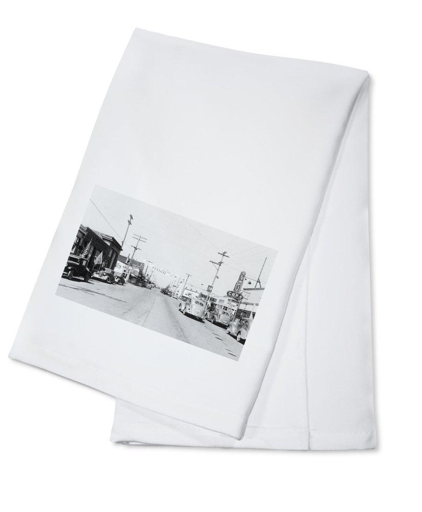 スクイム – Aストリートシーン Cotton Towel LANT-10979-TL B0184B935E  Cotton Towel