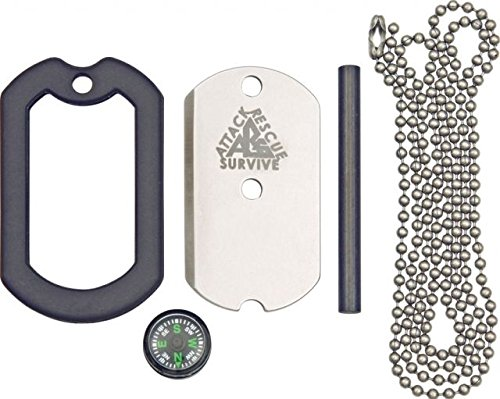 Dog Tag Deluxe Survival Knife ()