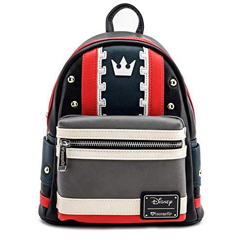 [해외]라운지 플라이 킹덤 하트 인조 가죽 미니 백팩 / Loungefly Kingdom Hearts Faux Leather Mini Backpack