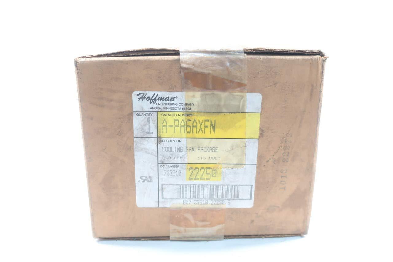 HOFFMAN A-PA6AXFN Cooling Fan Package 240CFM 115V-AC