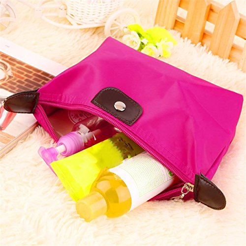 Bag Bag Durable Light Pouch Make Travel Soft Up Cosmetic Clutch Handbag Travel Purses Casual dOafaqYw