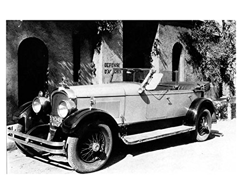 1927 1928 Marmon Series 75 Phaeton Speedster Automobile Photo Poster
