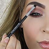 Duo Angled Eyebrow Brush with Spoolie - Beauty