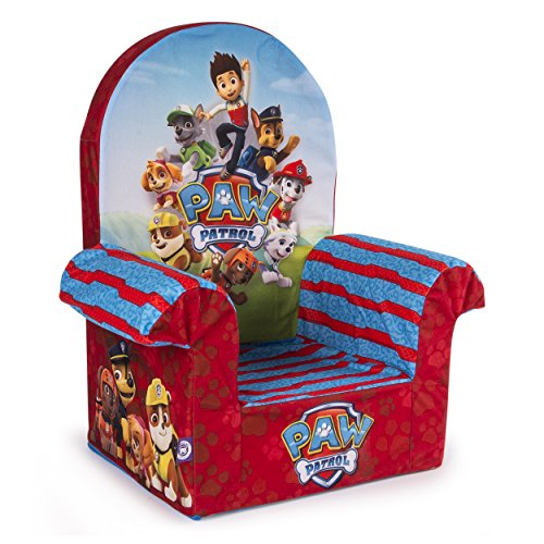 Marshmallow Furniture Children's Foam High Back Chair, Nickelodeon Paw Patrol, by Spin Master