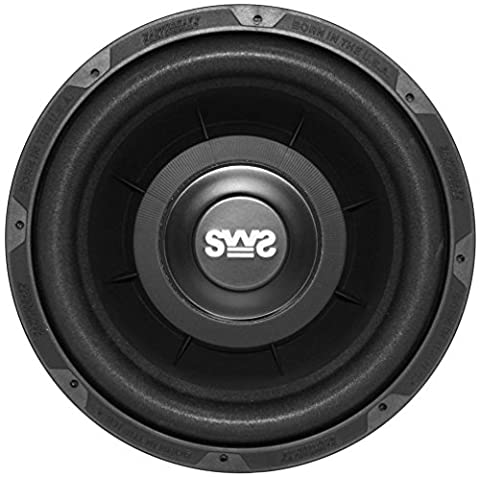 Earthquake Sound SWS-12X Shallow Woofer System 12-inch Car Subwoofer, 4-Ohm (Single) (Earthquake Shallow Subwoofer)