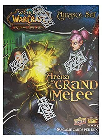 World of Warcraft TCG WoW Trading Card Game Arena Grand Melee Alliance Set by World of