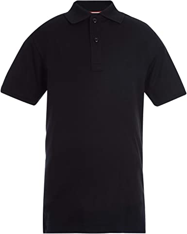 Tommy Hilfiger Unisex Kids Long Sleeve Pique Co-ed Polo Shirt