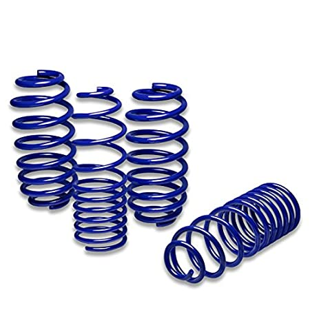 B5 Typ 8D Blue For Audi A4 Suspension Lowering Springs