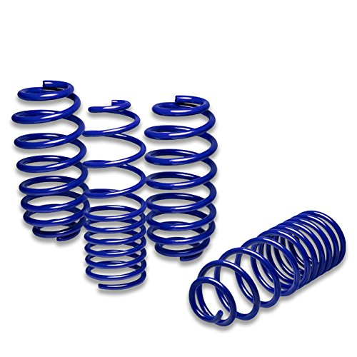 For Audi A4 Suspension Lowering Springs (Blue) - B5 Typ 8D