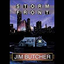 Storm Front: The Dresden Files, Book 1 Audiobook by Jim Butcher Narrated by James Marsters