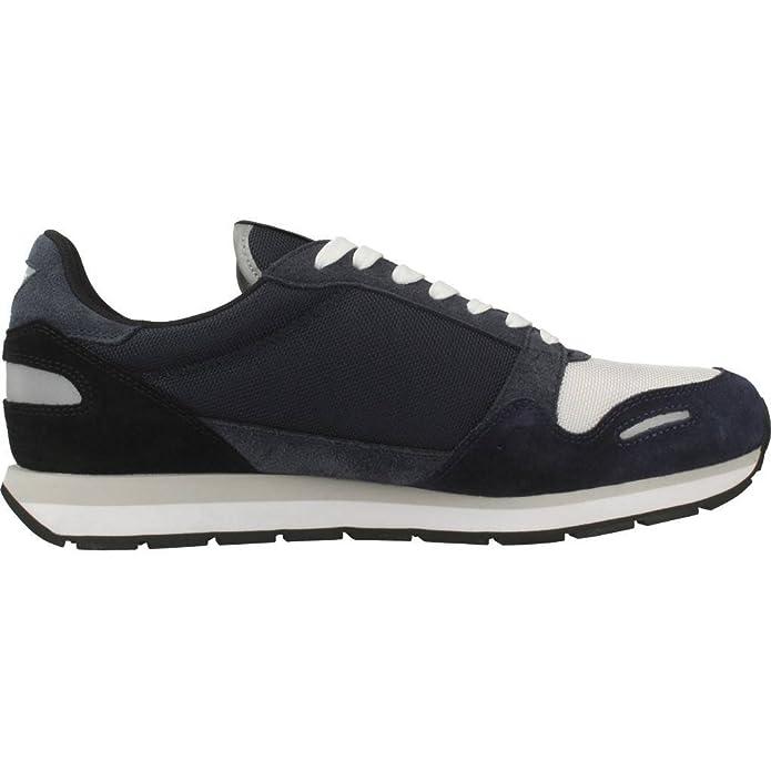 Emporio Armani X4X215 Sneakers Basse Uomo Blu 43  Amazon.it  Scarpe e borse 36a448cbb0f