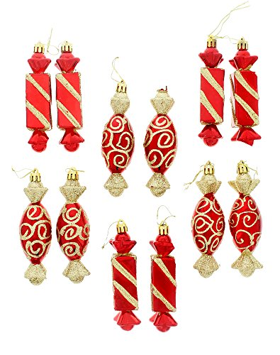 Red Christmas Tree Ornaments Amazoncom