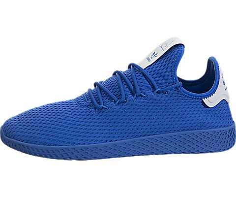 adidas Mens Pharrell Williams Tennis hu Athletic Shoe (Mens 9.5 Blue Monochrome 6432)