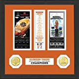 NCAA Clemson Tigers Highland Mint 2016 Football National Champions Ticket Collection, Black