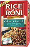 chicken and broccoli - Rice a Roni Rice & Vermicelli Mix with Chicken Broth & Broccoli, 4.9 oz (138 g)