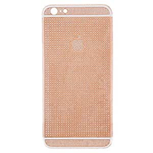 iPhone 6 Plus, Crystal Diamond Back Cover - Gold
