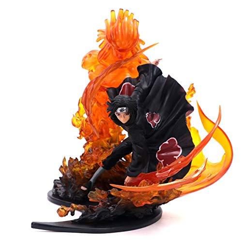 Fallhuoz Anime Naruto PVC Action Figure Naruto Zero Toys Uchiha Itachi Fire Sasuke Susanoo Relation Collection Model Toy 21cm 2 Styles