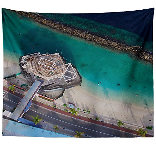 Westlake Art - Wall Hanging Tapestry - Aerial View - Photogr