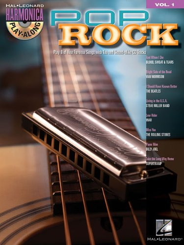 Pop Rock: Harmonica Play-Along Volume 1