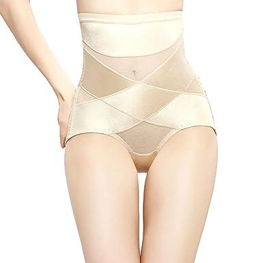 Chengleilei Pantalones de cintura alta para el vientre después de ...