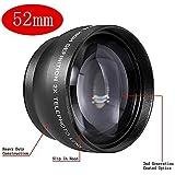 Neewer® 52mm Telephoto Objektiv mit Tragtasche für digitale SLR-Kameras und Camcorders mit 52mm Filter Gewinde