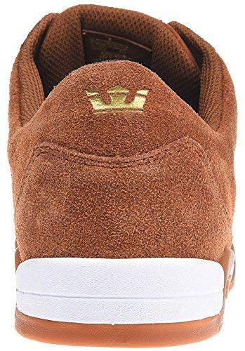 Supra ELLINGTON - zapatilla deportiva de cuero hombre Brown - Gum
