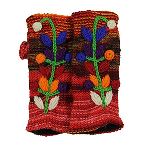 Giant Crochet Gloves - 4