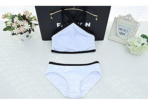 YUPE Hot spring Badeanzug Mode sport Badeanzug Frauen schwarze und weiße Spa Triangel Bikini Girls