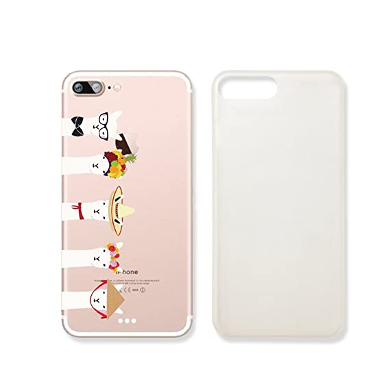 low priced 74bda 364cd Cute LLama Slim Iphone 6 6s Case, Clear Iphone Hard Cover Case For Apple  Iphone 6 6s Emerishop (VAE438.7sl)