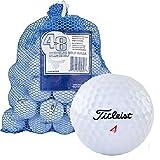 Titleist Bolas de Golf Recicladas en Bolsa de Malla (48 Unidades)