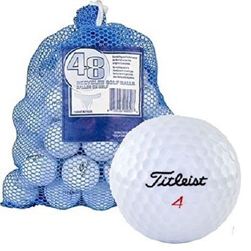 Titleist Recycled Golf Balls in Mesh Bag (48-Pack) by Titleist