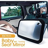 OZSTOCK Car Baby Seat Inside Mirror View Back Safety Rear Ward Facing Care Child Infant