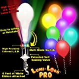 Pro-Lumi White Balloon Multi Lites - 10 Pack