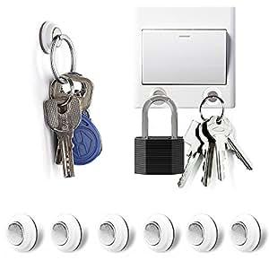 Amazon Com Tescat Magnetic Key Holder 6 Packs Key Racks