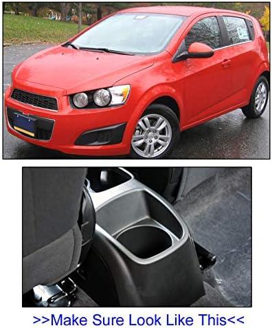 Car Armrest For Chevrolet Sonic Aveo 2012-2018 Rotatable Storage Box