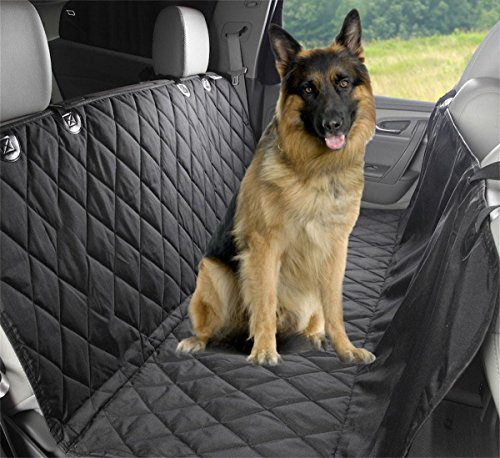 Amazon #LightningDeal 72% claimed: Pet Seat Cover, Lifepul(TM) Dog Seat Cover For Cars Anti Slip In Large Size - Perfect For Cars, SUVs and Trucks In Universal Size, WaterProof & Hammock Convertible, Installing Easily