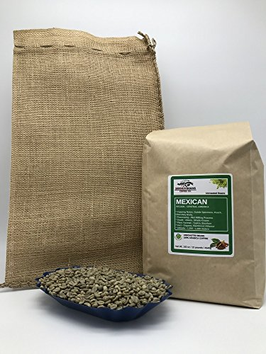 10 pounds| Mexican| Farm: Finca Nextlalpa| Grade-Altura| Spice,Chocolate,BrownSugar,Nuts/Apple| Specialty-Grade Green Unroasted Whole Coffee Beans|for Home Coffee Roasters|by Smokin' Beans Coffee Co (Apple Chocolate Coffee)