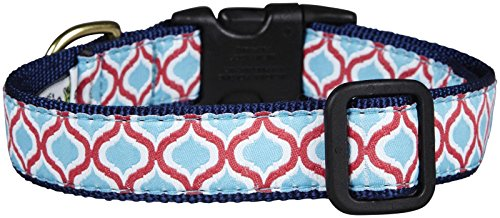 Up Country Blue Kismet Dog Collar - Large