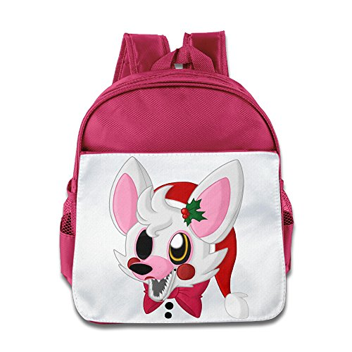 HYRONE Five Night Video Game Trailerb Boys And Girls School Bagpack Bag For 1-6 Years Old Pink