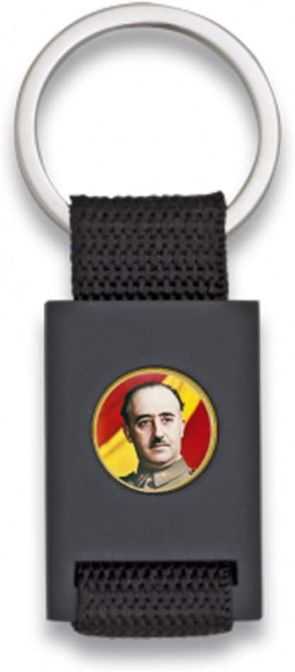 Tiendas LGP Albainox -Llavero con Chapa Francisco Franco -Lona ...