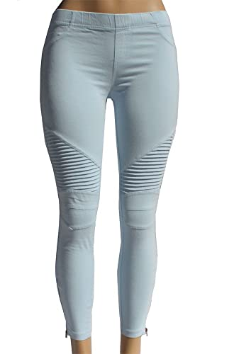 9a5d965ee14 Beulah Women s Ankle Zip Moto Pant at Amazon Women s Clothing store