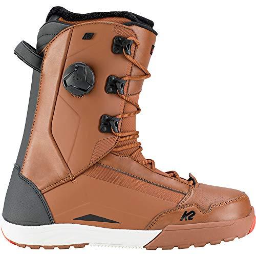 K2 Mens Darko Snowboarding Boot, Brown, - Snowboard Mens Brown Boots