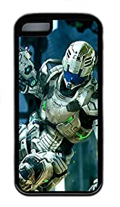 iPhone 5C Cases & Covers - 3D Robot Custom TPU Soft Case Cover Protector for iPhone 5C¨CBlack