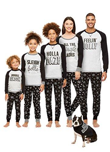 Jammin Jammies Family Holiday Pajamas, Womens 2-Piece Pajama Set With Door Knob Sign, Holla - Holla Clothing