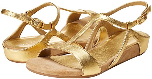 gold Unisa Sandales Or lmt Alace Bout Ouvert Femme xxZw1z4Oq