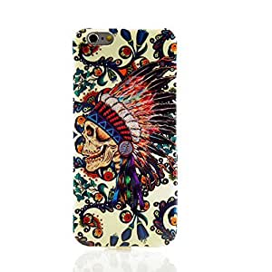 Soft Gel Silicon Case Heavy Duty Back Cover ultra Thin Skull for Iphone 6 4.7