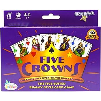 SET Enterprises 5 Crowns Card Recreation