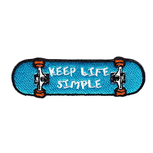 Life Patches Skateboard Patches Iron On Patch Embroidered Patch Custom Patches
