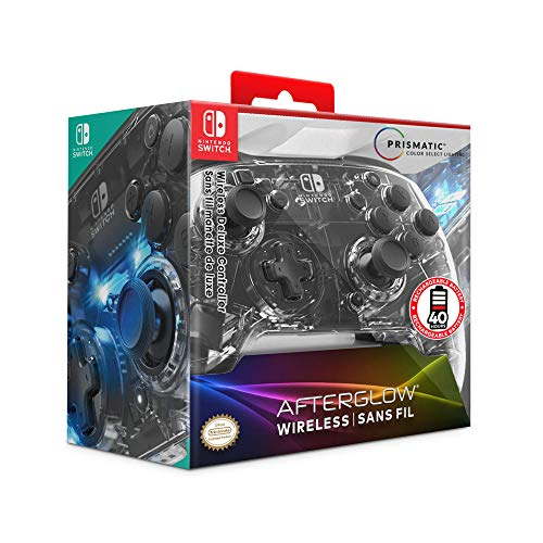 Afterglow Prismatic LED Deluxe Wireless Controller: Multicolor - Nintendo Switch